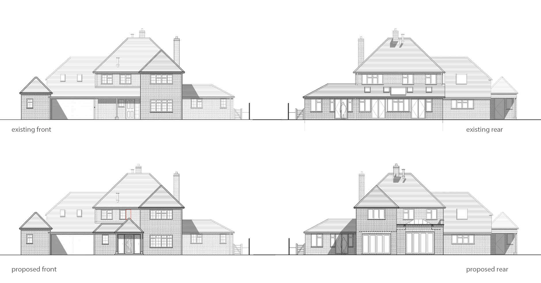 Linden Lodge existing - proposed